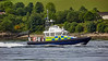 MOD Police Boat 'Iona' off Rhu Spit - 31 May 2017