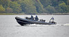 MOD Police RHIB off Rhu Spit - 21 September 2020