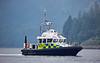 MOD Police Boat 'Skye' off Glen Mallan - 20 July 2016