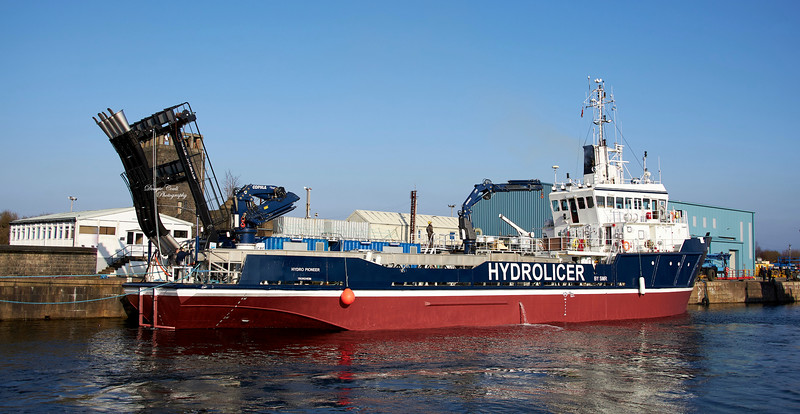 Hydrolicer at James Watt Dock - 2 March 2021