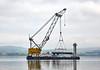 Lara 1 with Linkspan - Port Glasgow - 16 July 2019
