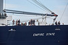 'TS Empire State' passing Greenock - 18 June 2018