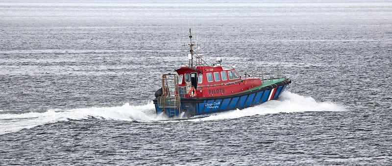 Pilot Cutter 'Skua' off Gourock - 10 August 2021
