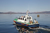 Pilot Cutter 'Toward' Departs James Watt Dock - 25 February 2013