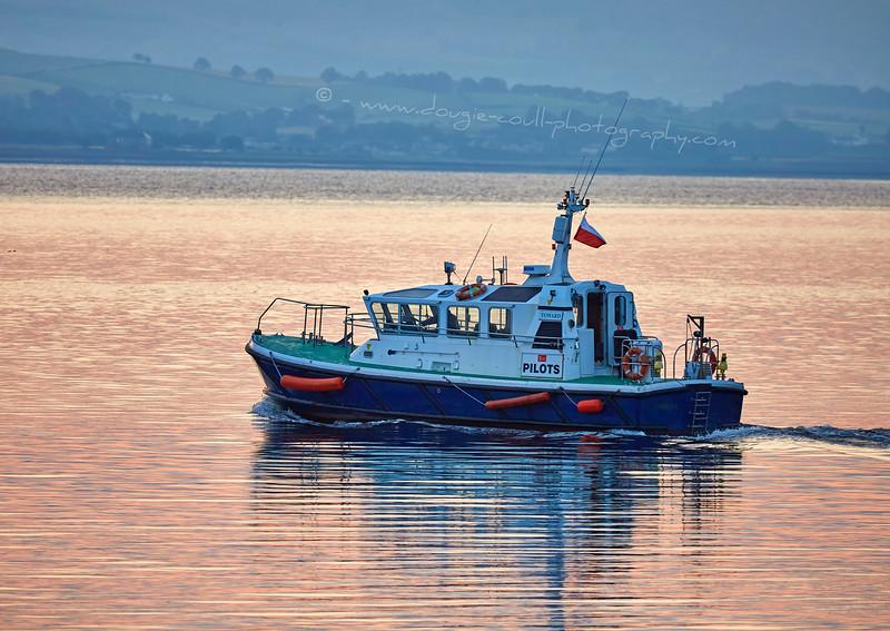Pilot Cutter 'Toward' off Greenock - 13 August 2015