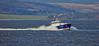Pilot Cutter 'Mount Stuart' passing Port Glasgow - 10 March 2015