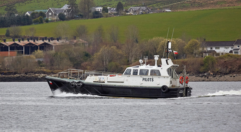 Pilot Cutter 'Gallant' off Rhu - Rhu - 28 March 2019