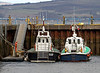 Pilot Cutters 'Haven Hawk' and 'Toward' - Small Harbour - 15 February 2012