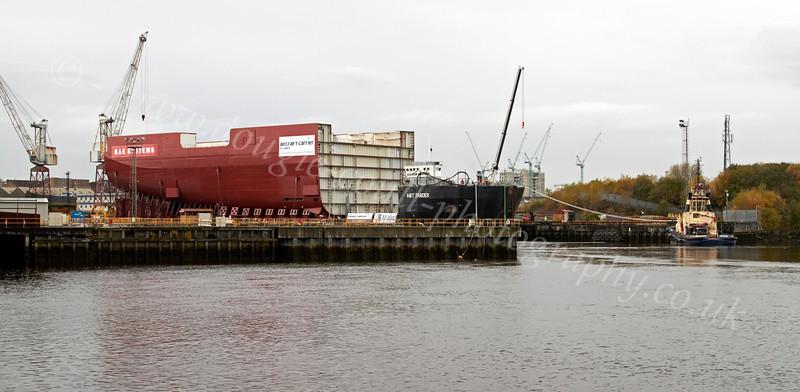 Lower Block 04 Section - Final Preparations at Govan - 4 November 2012