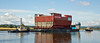 Prince of Wales - Lower Block 03 - Passing Clydebank - 28 July 2014