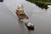 (HMS) Queen Elizabeth Aft Island Move - Erskine Bridge - 16 June 2013