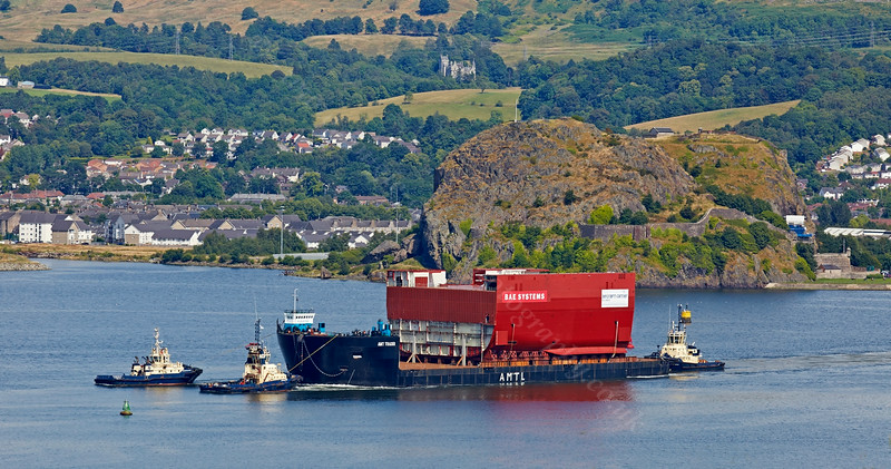 Prince of Wales - Lower Block 03 - Passing Dumbarton - 28 July 2014