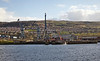 Passing Inghgreen Dry Dock on the Clyde - 8 April 2014