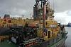 'SD Impetus' assisting 'SD Oilpress' to James Watt Dock, Greenock