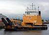 'Cameron' - Berthing in James Watt Dock