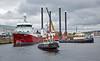 Busy Scene at James Watt Dock - 10 September 2018