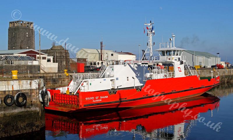 Sound of Shuna - James Watt Dock - Greenock