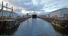 'MV Isle of Arran' at the Garvel Dry Dock - 6 February 2014