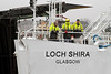 Loch Shira Arrives - James Watt Dock - 27 December 2011