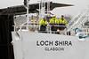 Loch Shira Arrives - James Watt Dock - 27 December 2011