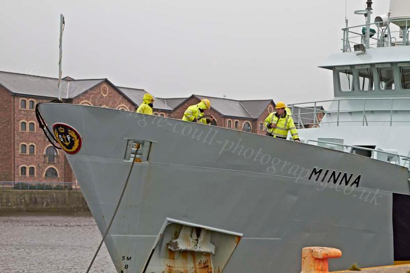 Minna - James Watt Dock - 22 July 2012