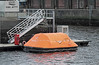 Safety Liferaft - James Watt Dock - 5 January 2012