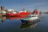 Pilot Cutter 'Toward' Departing the James Watt Dock - 25 February 2013