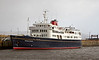 Hebridean Princess - James Watt Dock - 4 February 2013