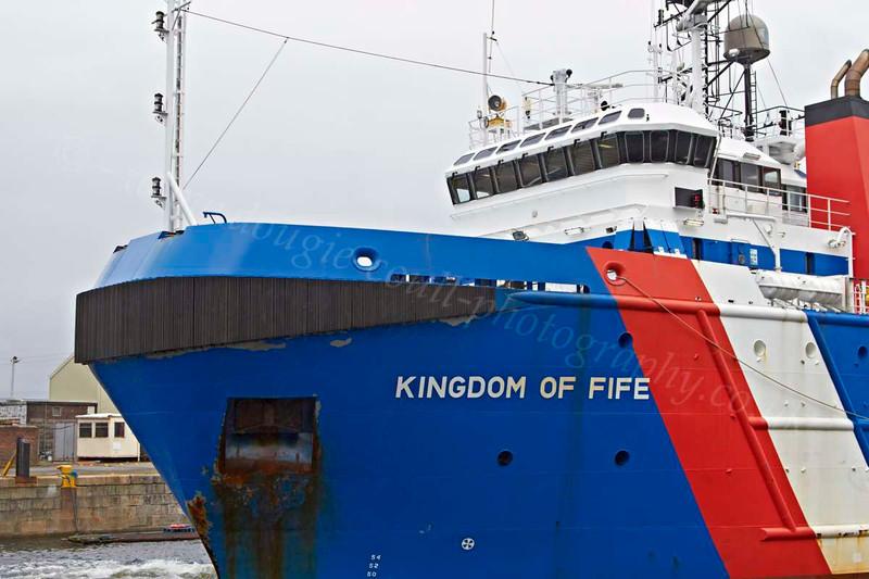 Kingdom of Fife - James Watt Dock - 22 July 2012