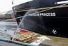 Hebridean Princess - James Watt Dock - 11 January 2012