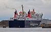 'Isle of Lewis' Entering the Garvel Dry Dock - 6 October 2013