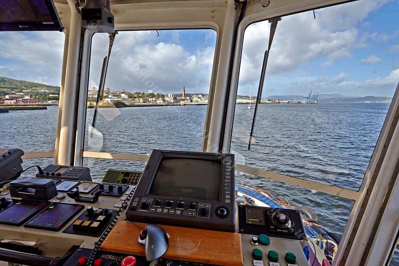 Departing 'James Watt Dock' - 31 August 2013