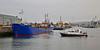 'Lough Foyle' and 'Toward' in the James Watt Dock - 19 September 2014