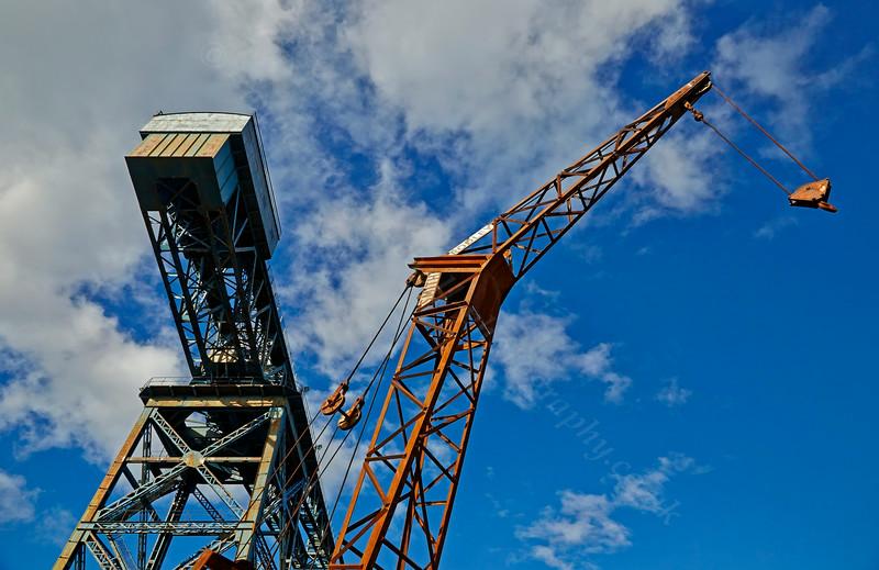 Sugar Sheds in James Watt Dock - 23 August 2014