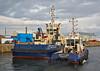 'Svitzer Milford' and 'Battler' at the James Watt Dock - 28 September 2014