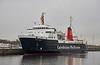 'MV Isle of Arran' at James Watt Dock - 21 December 2020