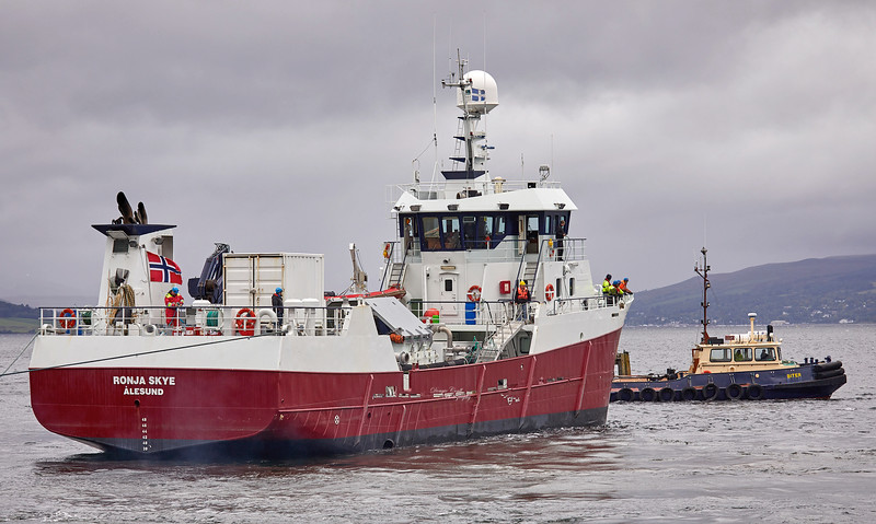MV Ronja Skye at James Watt Dock - 10 September 2018