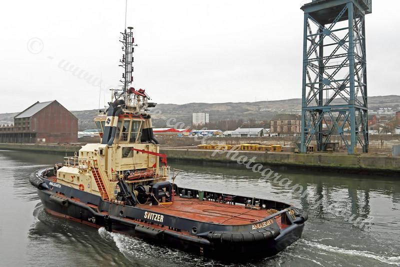 Svitzer Tug Anglegarth - James Watt Dock, Greenock