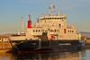 'MV Coruisk' in James Watt Dock - 11 March 2014