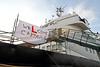 Hebridean Princess - James Watt Dock - 15 January 2012