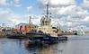 Ayton Cross Departing the James Watt Dock