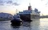 'Caledonian Isles' and tug 'Bruiser' - James Watt Dock - 19 January 2012Tug Bruiser