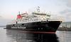 'Caledonian Isles' - James Watt Dock - 19 January 2012