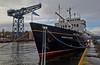 'Hebridean Princess' in James Watt Dock - 4 February 2014