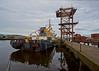 'Kommander Iona' at Great Harbour - 7 November 2014