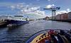 Arriving at 'James Watt Dock' - 31 August 2013 - 31 August 2013