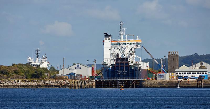 'NMV Arrow' in Garvel Dry Dock - 17 August 2017