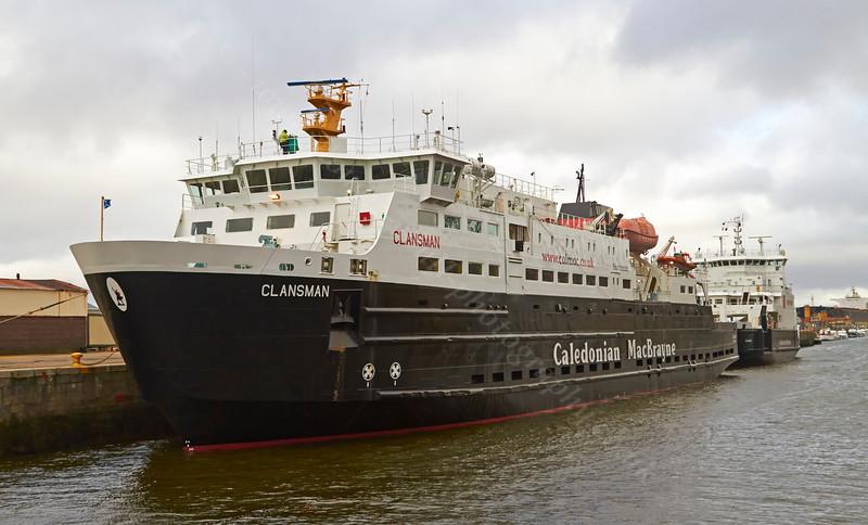 'Clansman' and 'Coruisk' at James Watt Dock - 16 March 2014