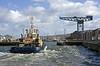 Svitzer Mallaig Enters James Watt Dock