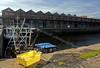 View of the Sugar Warehouse Compex in James Watt Dock, Greenock